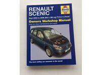 Renault Scenic Haynes manual