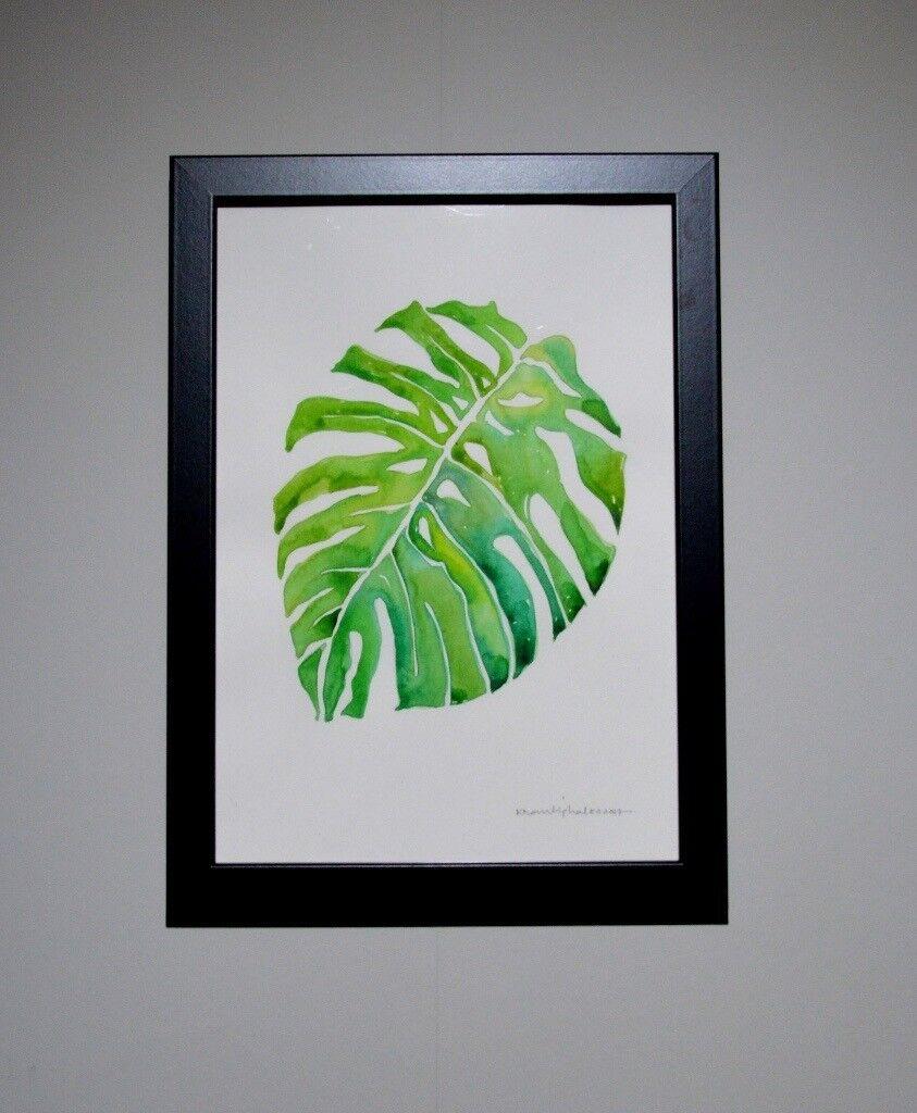 "Original Watercolour Painting(s) ""Leafs - Colour of Nature""-LCN1"