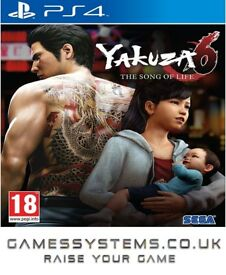 Get Yakuza 6: The Song of Life for PS4 for just £38.99!