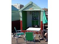 Beach Hut for sale in perfect location on Hove promenade