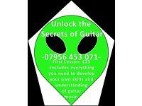 Unlock the Secrets of Guitar!