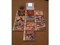Nintendo DSi (White) + 10 Games