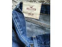 The hollister jeans are new never worn
