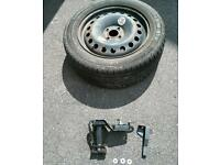 Renault Scenic Spare Wheel holder and Spare
