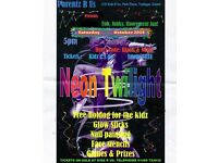 Neon Twilight at Kidz R Us - Tredegar - Fluorescent Family Fun - Games - Prizes