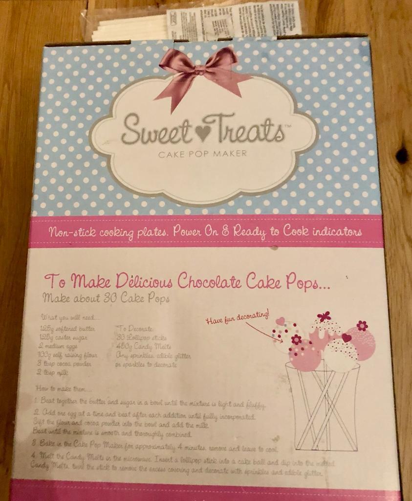 Cake pop maker sweet treats in kelvinbridge glasgow gumtree cake pop maker sweet treats stopboris Image collections