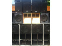 PA, Soundsystem, speaker hire, decks, dj equipment decorations and party supplies from £50