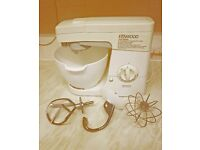 KENWOOD FOOD MIXER WITH ATTACHMENTS