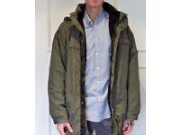 Aigle parka (XL / Brown / Zip-in-layer)
