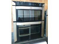 Belling BI70FP Fan Assisted Electric Built Under Double Oven In Stainless Steel