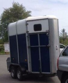 Ifor williams 401 single horse trailer