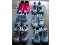 Girls Nike, Adidas & Sketchers trainers child size 10.5, 12.5, 13.5 & adult size 5