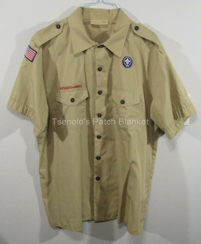 Boy Scout now Scouts BSA Uniform Shirt Size Adult 2X-Large SS FREE SHIPPING 117