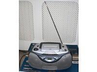 Philips AZ1003 Sound Machine Radio / Tape Cassette Recorder / Player - CD Faulty