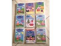 11 Peppa Pig DVDs. Excellent Condition!!