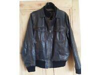 Ben Sherman Leather Mens Jacket For Sale (34/6)