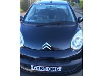 C1 1.0 i Code Manual 3dr • Metallic Black • Alloy Wheels • OMG plate • 2008 • lady owner