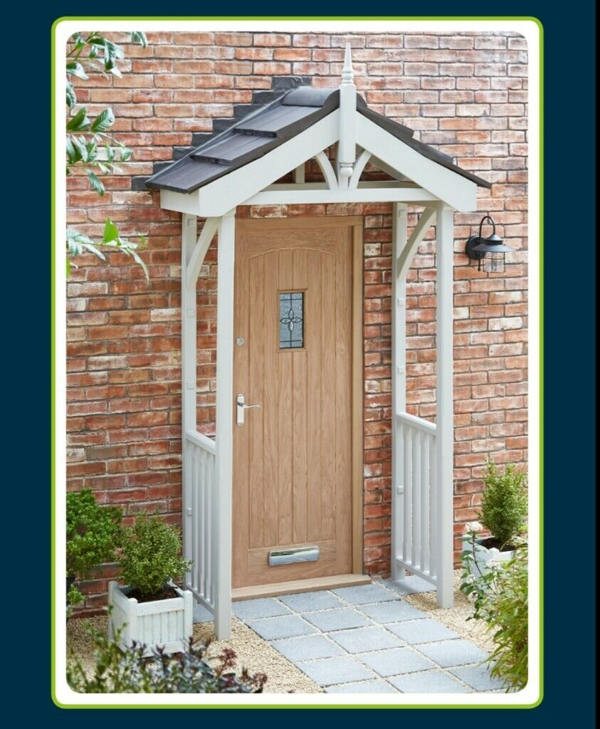 Front Door Porch Canopy Complete Kit