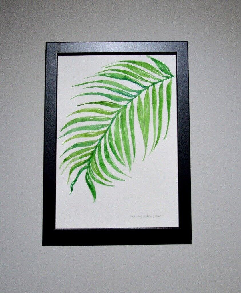 "Original Watercolour Painting(s) ""Leafs - Colour of Nature""-LCN3"