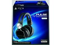Ps4 Sony pulse elite wireless headphones