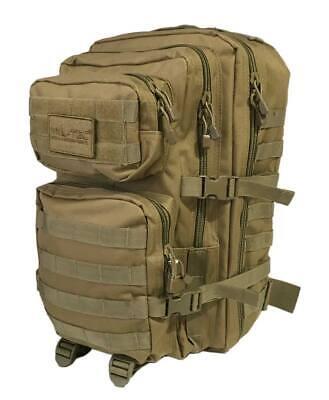 Mochila caza Miltec coyote tactica militar LG molle 36 Litros viaje senderismo