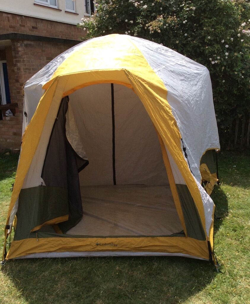 Columbia Squall Ridge Six-Person Two-Room Family Dome Tent & Columbia Squall Ridge Six-Person Two-Room Family Dome Tent | in ...