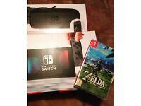Nintendo Switch - Zelda - Starter Pack