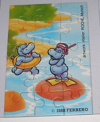 """Puzzle """"Happi Hippos"""" Unten Rechts"""