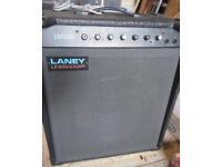 LANEY Linebacker 100 Bass Amplifier. Full working order.