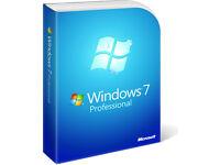 WINDOWS 7 PROFESSIONAL 32 & 64 BIT (WITh KEY)