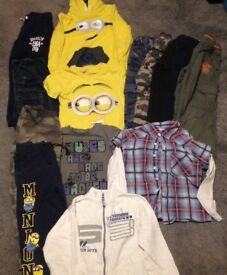 boys clothing 6-7 years