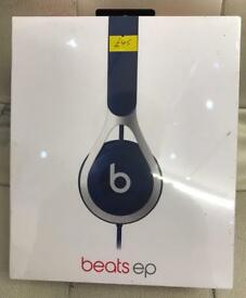 Beats by Dr. Dre Beats EP Headband Headphones Blue beand new sealed