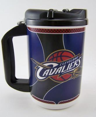 Cleveland Cavaliers 20 oz Thermo Mug & Lid NEW Insulated Travel Cup Coffee beer - 20 Oz Beer Mug