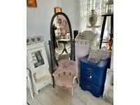 Newly refurbished vintage retro & modern furniture