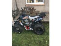 Road Legal Quad Apache Rlx 250 sport