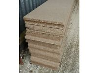 56 Pieces of NEW 15mm EGGAR Commercial Grade High Density Chipboard 48in x 9¾in (1220mm x 250mm)