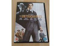The Untouchables (1987) and Public Enemies (2009) DVDs