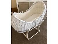 Apples and Pears Moses Basket