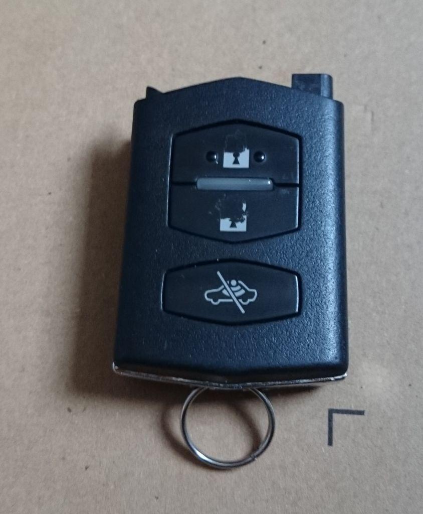 Mazda 2 3 5 6 mx5 rx8 - flip key type keyless entry fob (VISTEON