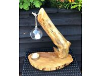 A Rustic Table Feature