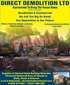 Demolition Workers/Excavator Operators
