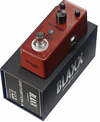 Stagg BLAXX Distortion A - Mini Guitar Effects Pedal