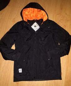 Men's Bellfield Black Parka Coat