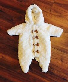 Mamas & Papas Welcome to the World Fur Pramsuit
