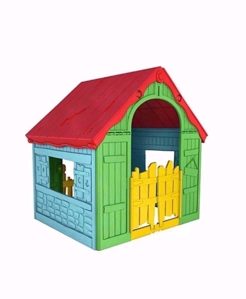 KETER Garden Outdoor Fun Indoor Kids Wonderfold Childrens Folding Playhouse BRAND NEW IN PACKAGING