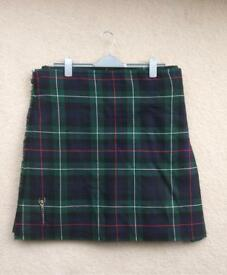 Scottish Kilt 100% Wool