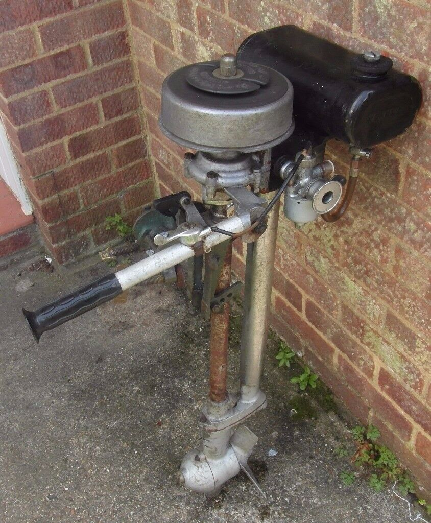 British Seagull Outboard Engine for Dinghy Boat Tender