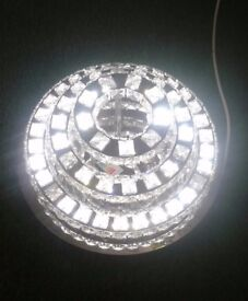 STUNNING 3-TIER CHANDELIER LED CEILING LIGHT - WAS £400, NOW ONLY £185