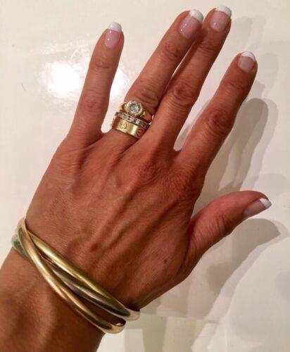 Superbe bracelet trinity cartier 3 ors - 58 grammes 18 carats valeur 8750€ neuf