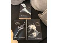 3 Fifty Shades Of Grey Books 1-3